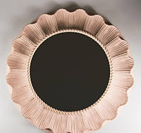 Зеркало оригинальное дизайнерское интерьерное Ami Rose / зеркало для дома настенное