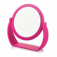 Косметическое зеркало настольное на подставке 20х19 см / зеркало для макияжа