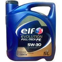 Моторное масло ELF 5w30 Evolution Full Tech FE 5л