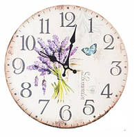 Настенные Часы интерьерные Букет из Лаванды