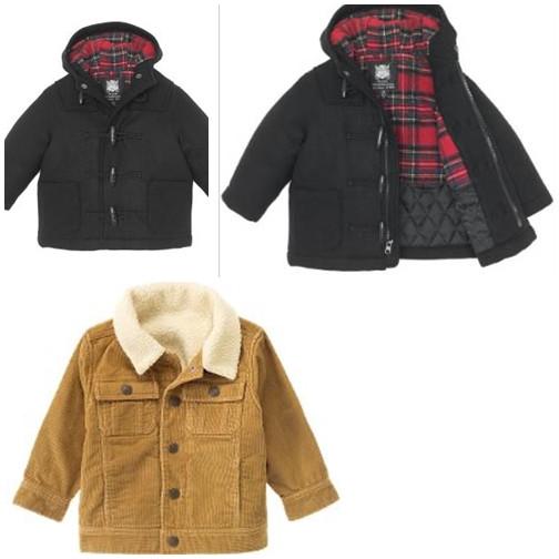 Куртки, парки, пальто для хлопчика