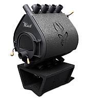 Отопительная конвекционная печь Rud Pyrotron Кантри 03 Обшивка декоративная (черная)