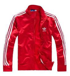Мужская толстовка Adidas красного цвета