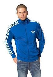 Мужская толстовка Adidas синего цвета