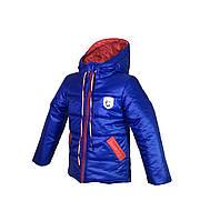 Детская красивая курточка с капюшоном