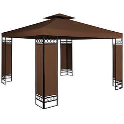 Садовый павильон беседка BROWN TENT 3x3 м