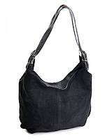 Женская сумка из замши 515 Black .Купить женские замшевые сумки оптом и в розницу дёшево в Украине.