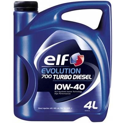 Моторное масло ELF 10w40 Evolution 700 Turbo Diesel 4л