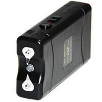 Электрошокер 800 TYPE, компактный, прорезиненый корпус, фонарик, для самозащиты