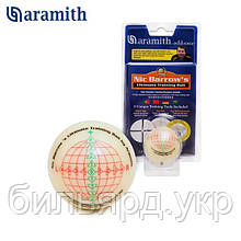 Тренировочный шар Snooker Aramith Nic Barrow`s Ultimate Training Ball 52,4мм блистер