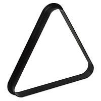 Треугольник для снукера Стандарт пластик черный ø52,4мм