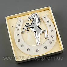 """Настенная сувенирная фигурка """"Подкова"""" (10 см) СИМВОЛ СЧАСТЬЯ"""