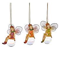 Елочная игрушка фея на шаре Goodwill
