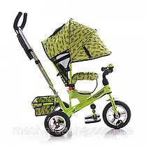 Детский трехколесный велосипед Turbo Trike М 5361-2 надувные колеса, фото 2