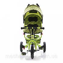Детский трехколесный велосипед Turbo Trike М 5361-2 надувные колеса, фото 3