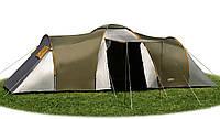 Германская палатка 6 местная TROPIK 3000 MM 2 СПАЛЬНИ + ТАМБУР