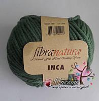 Пряжа Инка Фибранатура Inca Fibranatura, 43011, зеленый