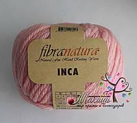 Пряжа Инка Фибранатура Inca Fibranatura, 43022, св. розовый