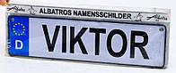 Именная табличка на коляску детскую Viktor (7180.1)