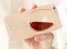 Уникальный чехол бампер для iPhone 6 6S бокал вина, фото 3
