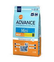 Advance Dog Mini Adult для взрослых малых собак, 7.5кг