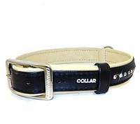 Ошейник COLLAR brilliance со стразами, ширина 15мм, длина 21-27см, 38721, чёрный