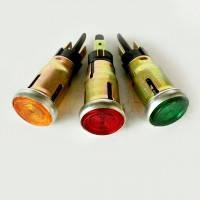 Фонарь контрольной лампы (глазок, оранжевый) ПД20-Е1