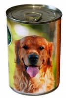 Baskerville Ягненок и петух, консервы для собак, 800г