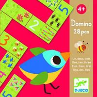 Игра настольная детская Djeco Домино Один Два Три DJ08168