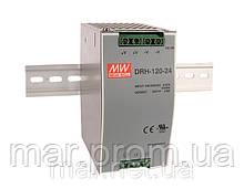 DRH-120-24 Meanwell Блок питания 3ф. 120вт, 24в, 5А на Din-рейку
