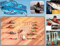 Наживки в наборе для рыбалки Mighty Bite