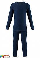 Комплект термобелья шерстяной для мальчика  Reima Kinsei 536184, цвет 6980
