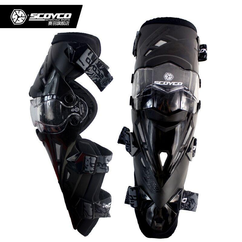 Мотонаколенники Scoyco K12 Black