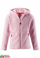 Толстовка флисовая для девочки Reima Vilja 536190, цвет 4010
