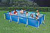 Прямоугольный каркасный бассейн Small Rectangular Frame Pools 450х220х84см Intex 28273