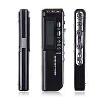 Миниатюрный  цифровой диктофон 8ГБ, MP3 плеер