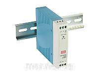 Блок питания, 10W, Вход: 85-264VAC/120-370VDC, Выход: 24V/0.42A, DIN-rail, размеры 100x90x22.5 мм, -20...+70 С