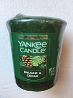 """Аромосвеча """"Хвоя и сидр"""" Yankee Candle"""