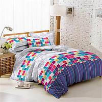 Ткань для постельного белья Поплин 1702 (A+B) - (50м+50м)