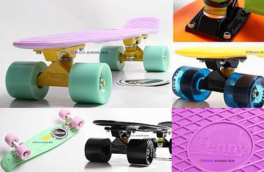 "Скейт Пенни борд Penny Board Nickel Classic LUX 28""  (70*20 см) + гравировка ""Penny"""