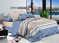 Ткань для постельного белья Поплин 1712 (A+B) - (50м+50м)