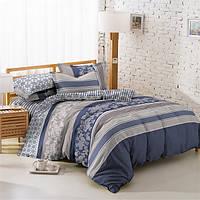 Ткань для постельного белья Поплин 1715 (A+B) - (50м+50м)