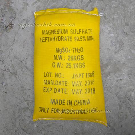 Сульфат магния (магний сернокислый) 25кг, фото 2