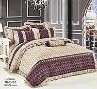 Ткань для постельного белья Поплин 3307 (A+B) - (50м+50м)