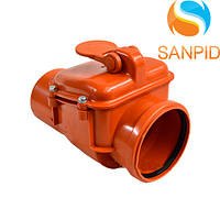 Клапан для канализации наружный 160