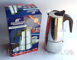 Гейзерна кавоварка з нержавіючої сталі Bohmann BH 9509