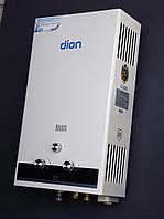 Колонка газовая  ДИОН  JSD 10 дисплей белая- черная (комфорт)