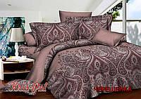 Евро макси набор постельного белья из Ранфорса №18176 KRISPOL™