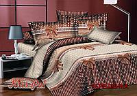 Евро макси набор постельного белья из Ранфорса №18179 KRISPOL™