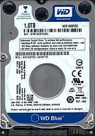"WD Накопитель HDD 2.5"" SATA 1.0TB Blue 5400rpm 128MB (WD10SPZX)"